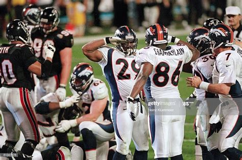 Super Bowl Xxxiii Denver Broncos Howard Griffith And