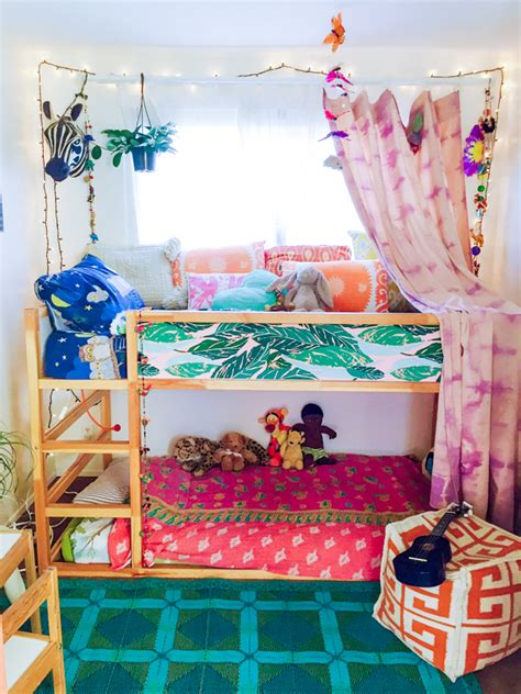 bohemian kids room designs  feature colorfulness