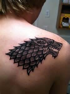 Game of Thrones Stark Tattoo Designs