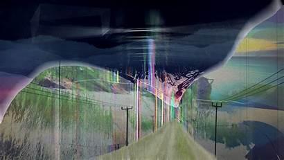 Glitch Distortion Space Earth Manipulation Psychedelic Digital