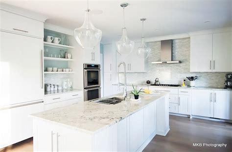 stainless steel kitchen backsplash tiles bianco romano granite contemporary kitchen benjamin