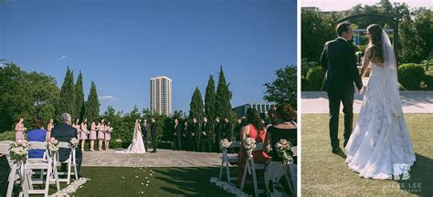 steve lee weddings katie and brad hartz wedding at mcgovern centennial gardens at hermann park