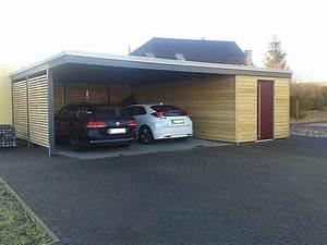 Doppelcarport Mit Abstellraum Seitlich : pin von evi smets auf carport pinterest carport garage und haus ~ Frokenaadalensverden.com Haus und Dekorationen