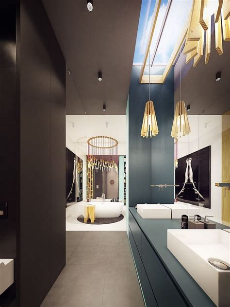 A Fashionably Comfortable Family Home by 1979 Best Images About Bathroom Designs On