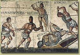 types of gladiators roman crime and punishment