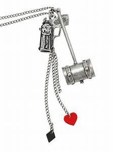 Harley Quinn Halsband : dc comics harley quinn hammer necklace hot topic 2 cool trinkets pinterest ~ Frokenaadalensverden.com Haus und Dekorationen