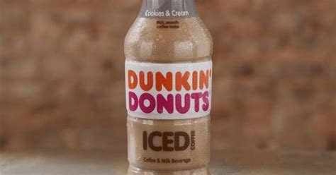 New Dunkin' Donuts Cookies & Cream Bottled Iced Coffee Starbucks Iced Coffee Gives Me Diarrhea Medium Roast Unsweetened 48 Oz Benefits Of Oil Most Caffeine Scrub On Face And Butter Mugs