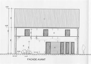 Plan Facade Maison : les plans et introduction du permis la maison de lilie et greg ~ Melissatoandfro.com Idées de Décoration