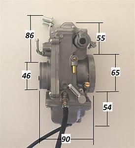 1 Honda Xr600 Xr650l Mikuni Tm42 Flatslide Pumper Carb Kit