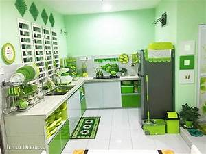Green, Themed, Kitchen, Atbge