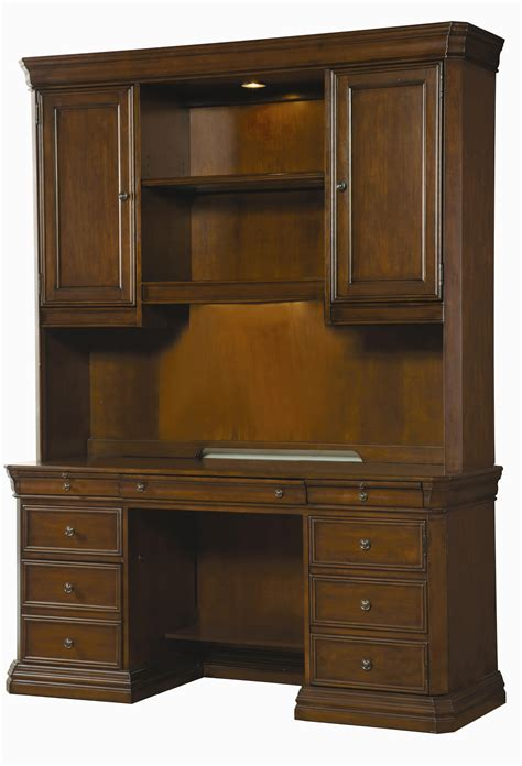 Desk With Hutch by Furniture Cherry Creek Traditional Desk And Hutch