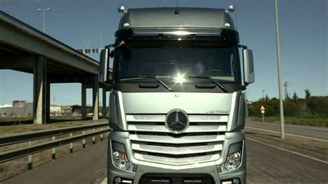 mercedes benz  actros  trucks youtube