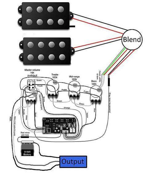 Yamaha Bass Guitar Wiring Diagram