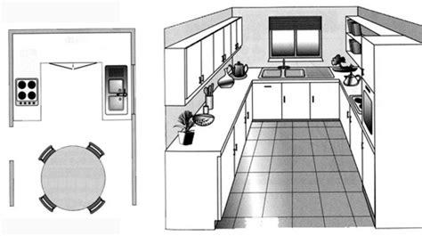 schema de cuisine gratuit agencement cuisine plan cuisine gratuit pour s 39 inspirer