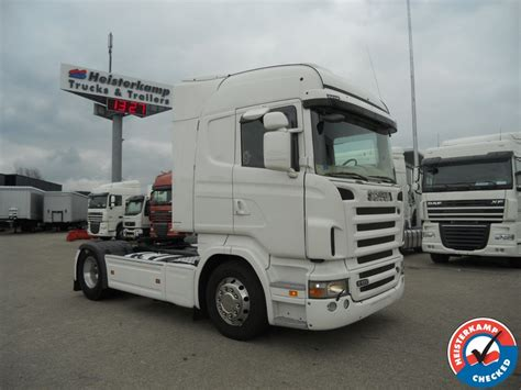 vehicle mileage form scania r500 highline v8 manual tractor unit from