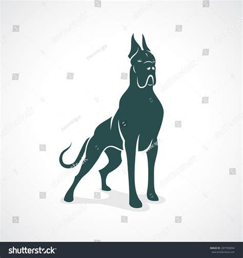 Download 3,017 great dane free vectors. Great Dane - Vector Illustration - 287590004 : Shutterstock