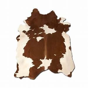 tapis en veritable peau de vache naturelle avec taches With tapis peau de vache avec canapé vrai lit
