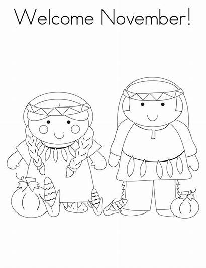 Coloring Pages November Welcome Printable Bestcoloringpagesforkids Info