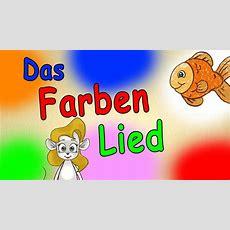 Farben Lernen Für Kleinkinder Deutsch  Das Farbenlied