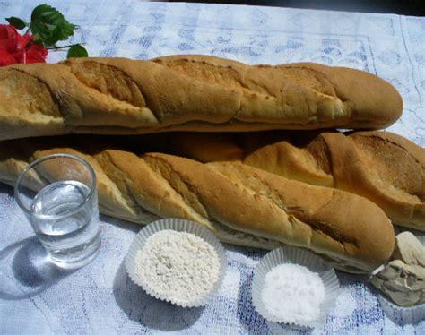 baguette chiapatta white german bread   german bakery