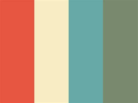retro color palette 25 best ideas about vintage color palettes on