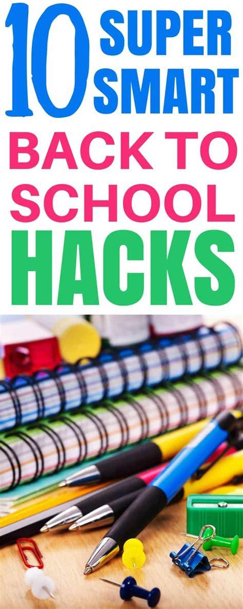 back to school hacks to 10 smart back to school hacks you ll noshtastic