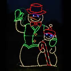 shop lighting specialists 4 ft animated waving snowman outdoor decoration with