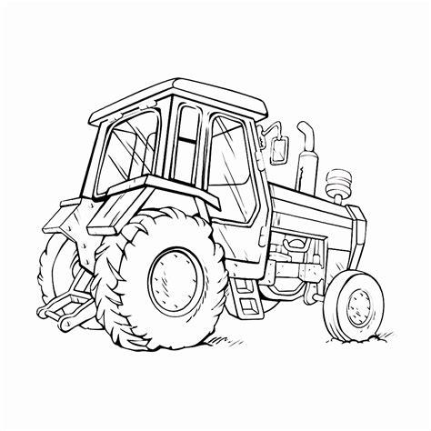 Afbeelding Tractor Kleurplaat by Kleurplaat Tractor Mooi Tractor Kleurplaten Uniek Tractors