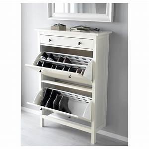 Ikea Pax Schuhschrank : hemnes shoe cabinet with 2 compartments white 89 x 127 cm ikea ~ Orissabook.com Haus und Dekorationen