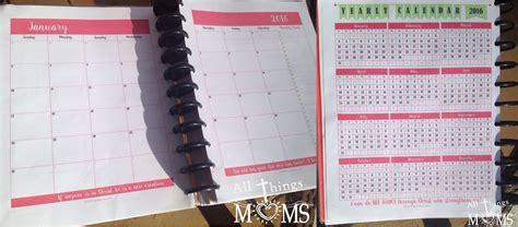 printable planner moms