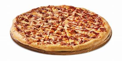 Pizza Bbq Chicken Whole Slices Cut Usa