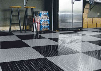 tread garage tiles eagle mat