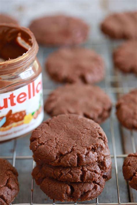 nutella recipes easy desserts 3 ingredient nutella cookies gemma s bigger bolder baking