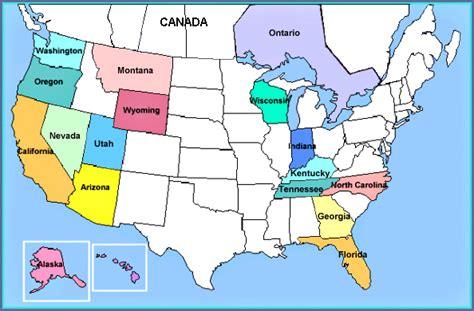 image map john muir   usa  canada