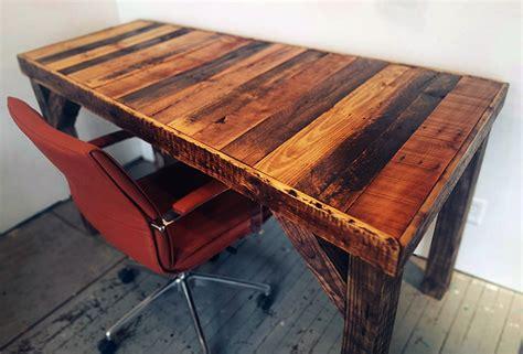 stunning reclaimed wood desks office reclaimed wood