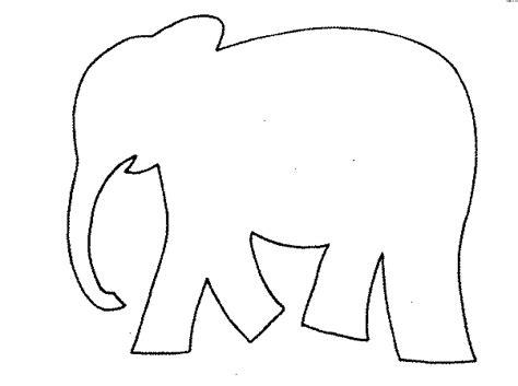 elephant cut out template elephant template beepmunk