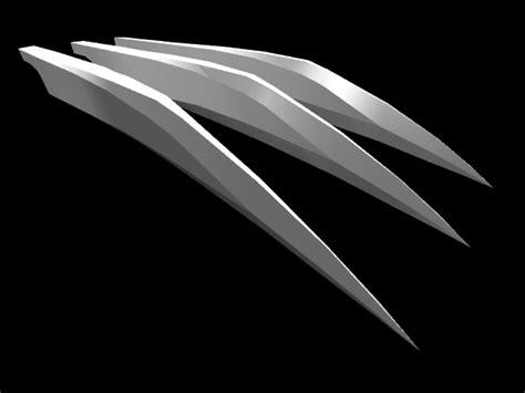 3d Wolverine Claws By Metalgearkoen On Deviantart