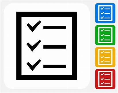 Check Graphic Vector Icon Clip Chores Household