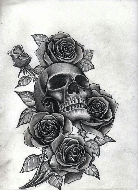 skull  roses tattoos pinterest tattoo tatting  piercings