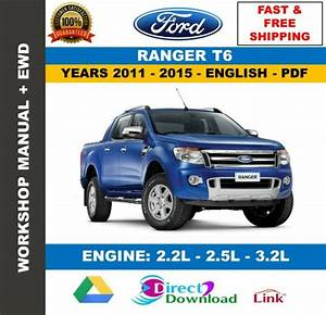 Workshop Manual Ford Ranger T6 2011