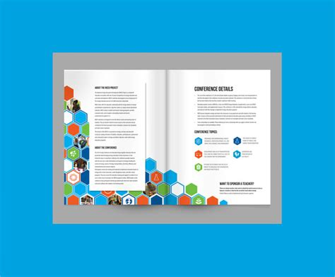 elegant conference brochure templates sample templates