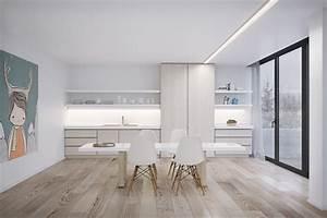deco salle a manger 15 idees et exemples d39amenagement With salle À manger contemporaine avec meuble design scandinave