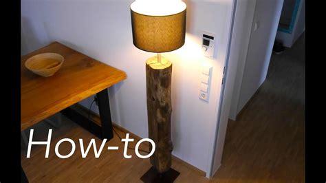 diy designer lampe treibholz bauen anleitung youtube
