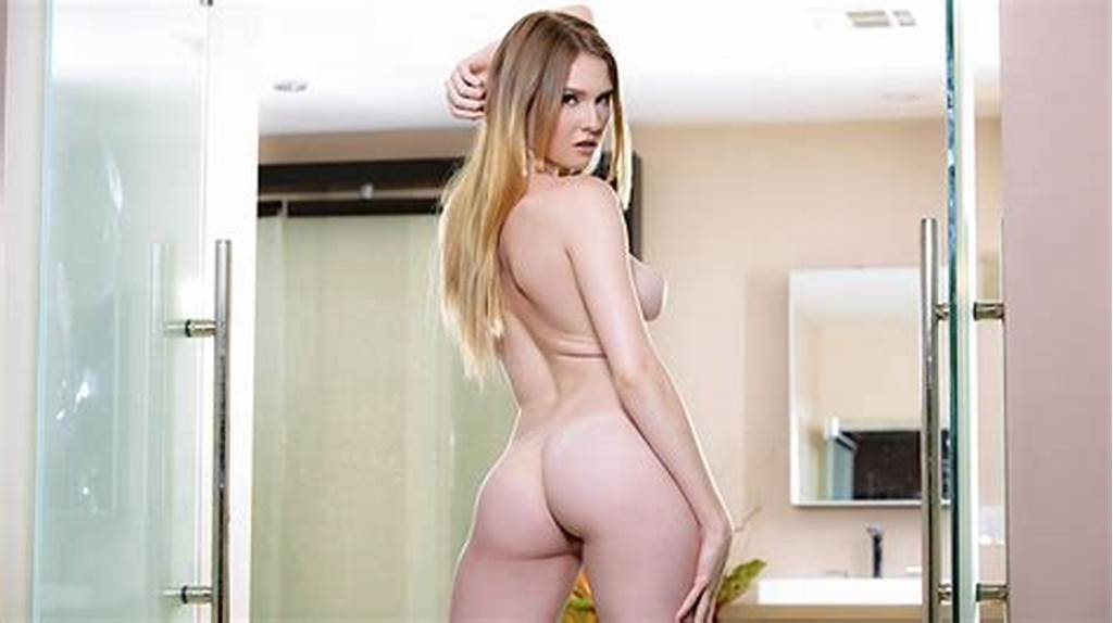 #Strawberry #Blonde #Gets #Soaking #Wet #In #The #Shower #Bubbleclips