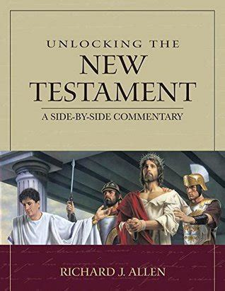 unlocking   testament  side  side commentary