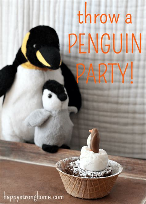 birthday party themes adorable penguin party ideas