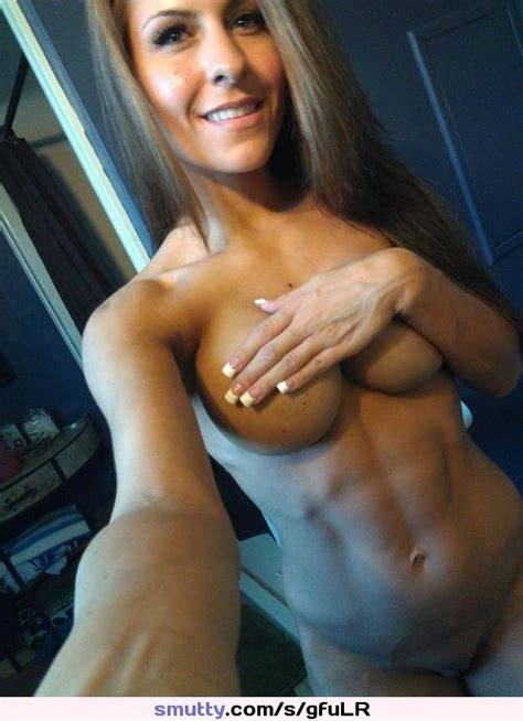 an image by irondonut milf ripped abs fit tits pretty pussy nude smile selfshot hot sexy