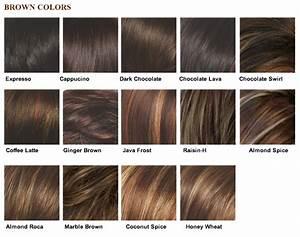 Medium Brown Hair Color Chart Medium Hair Styles Ideas