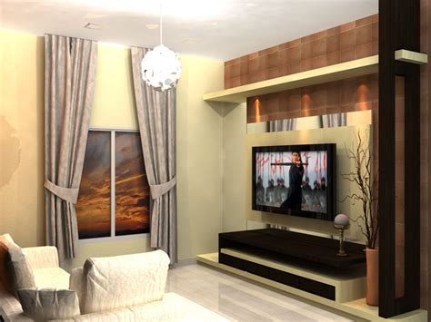 lcd wall unit design  living room decoration  house