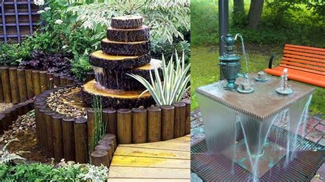 Water Fountains For Small Backyards by Creative Garden Small Ideas Outdoor Water